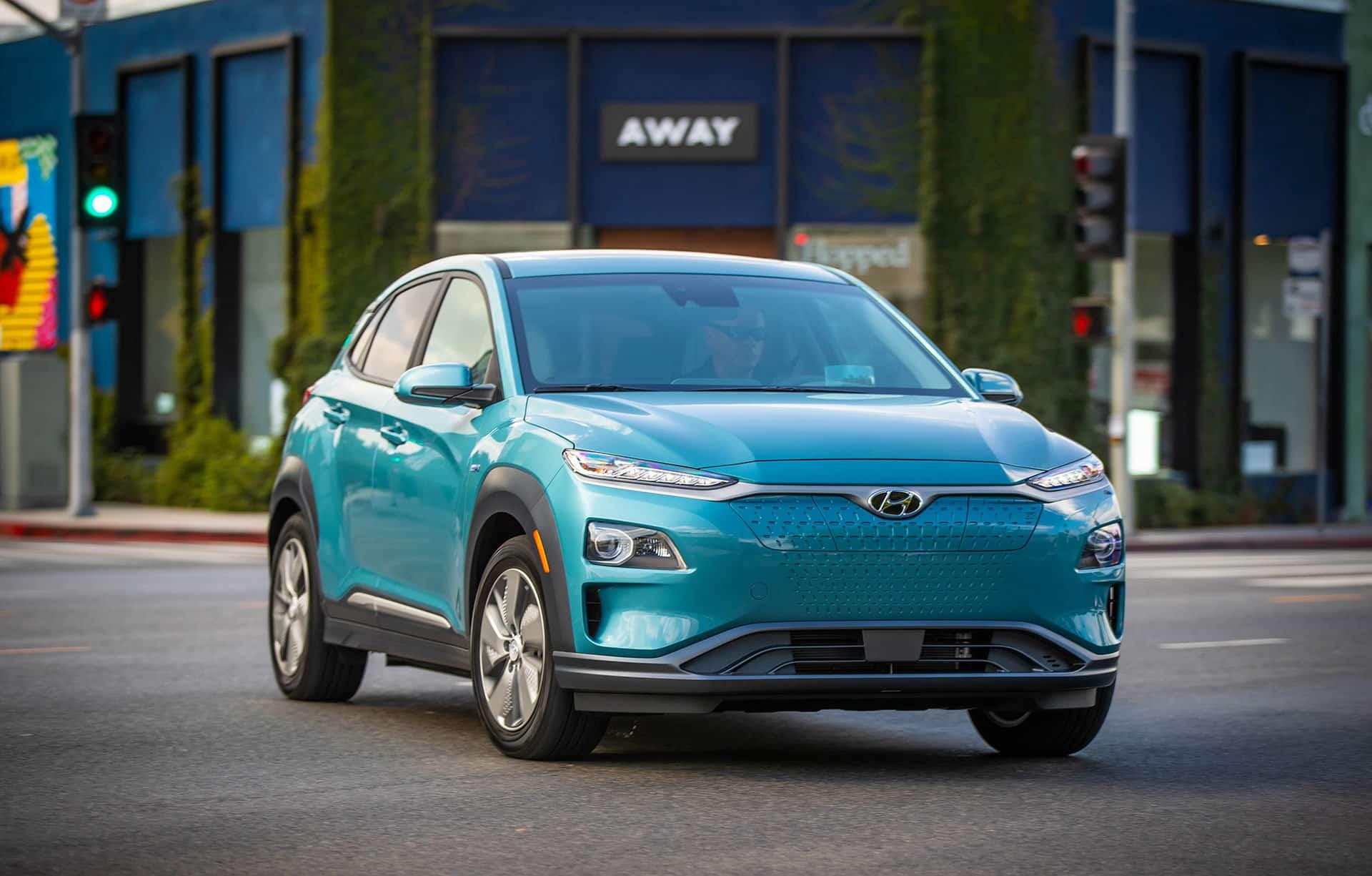 Fuel Efficient Hyundai Kona EV for the city!