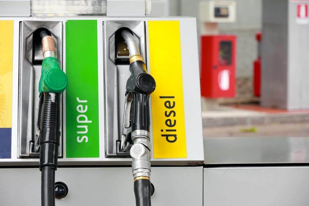 Diesel vs gasoline at the pump