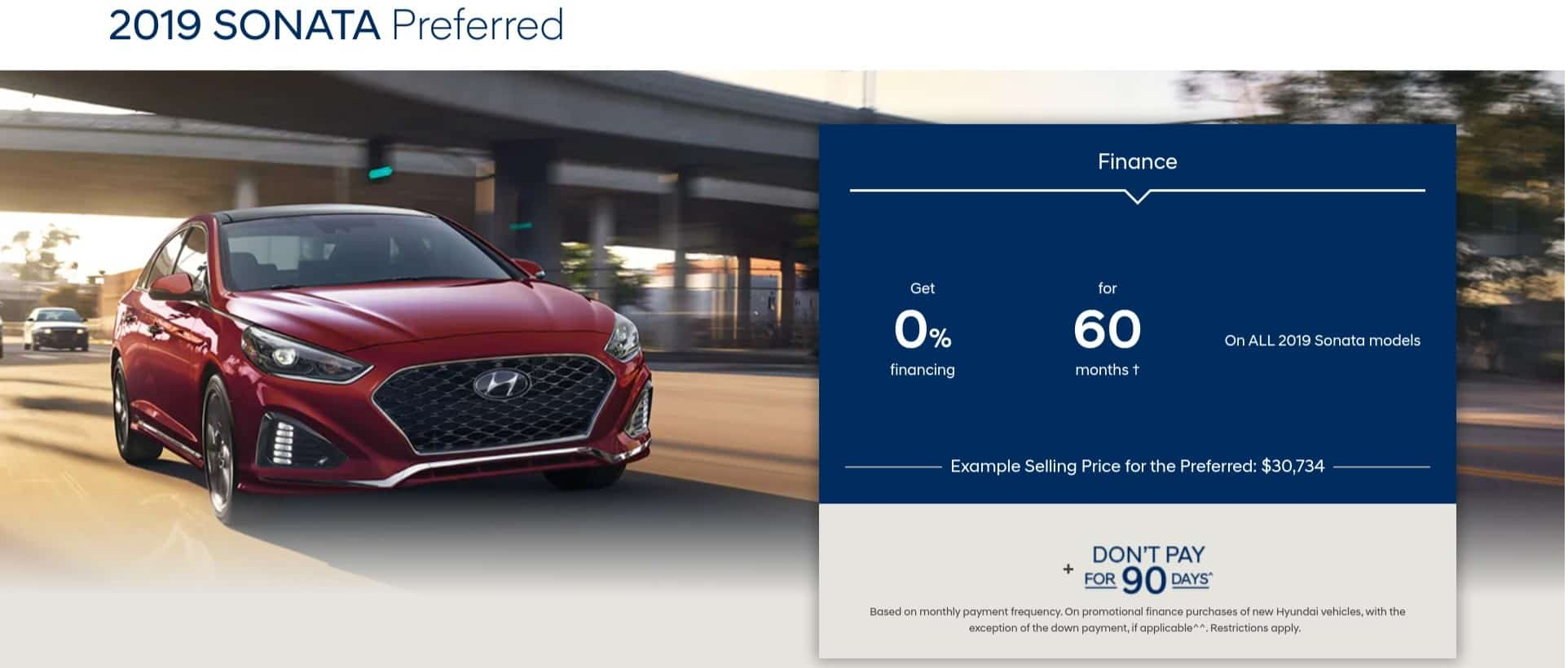 2019 Hyundai Sonata is one of the best new car deals in Canada