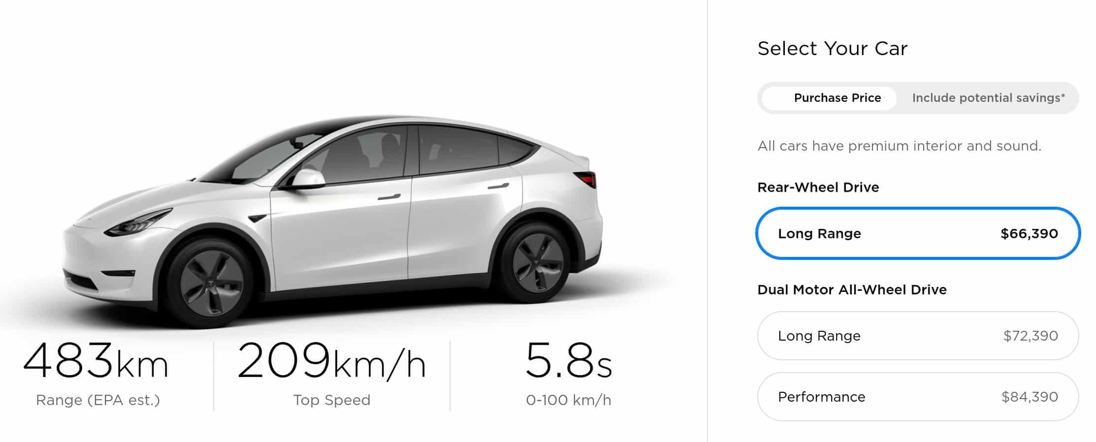 2019 Tesla Model Y is a great electric car deal