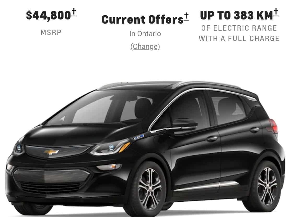 2019 chevrolet bolt is a great electric car deal