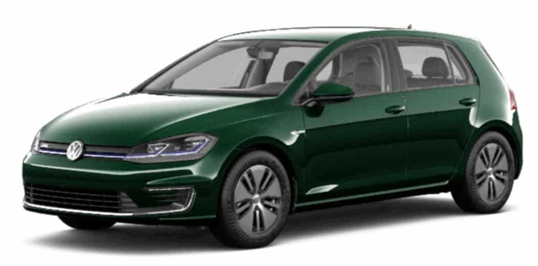 2019 Volkswagen EGolf is a great electric car deal