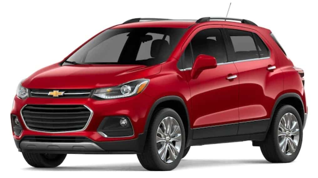 2019 Chevrolet Trax is a great SUV lease or finance deal in Canada