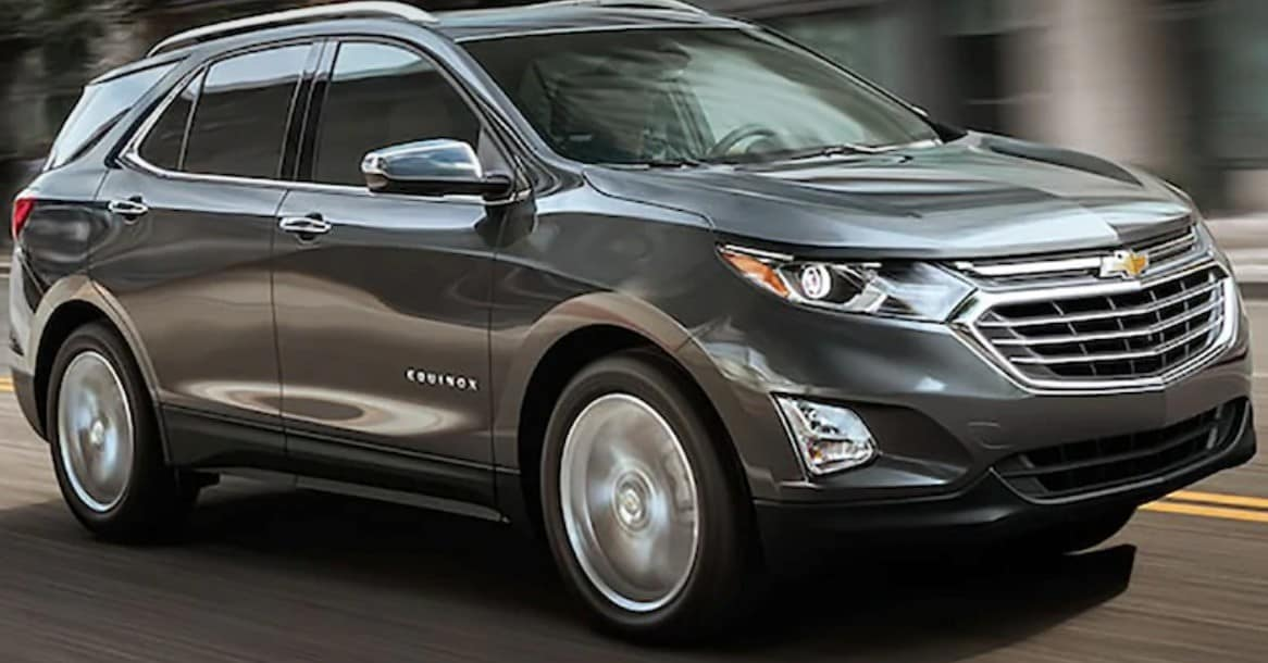 2019 Chevrolet Equinox is a great SUV lease or finance deal in Canada