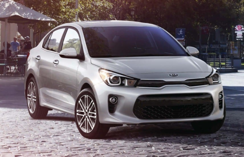 2019 Kia Rio is a great lease or finance deal in Canada
