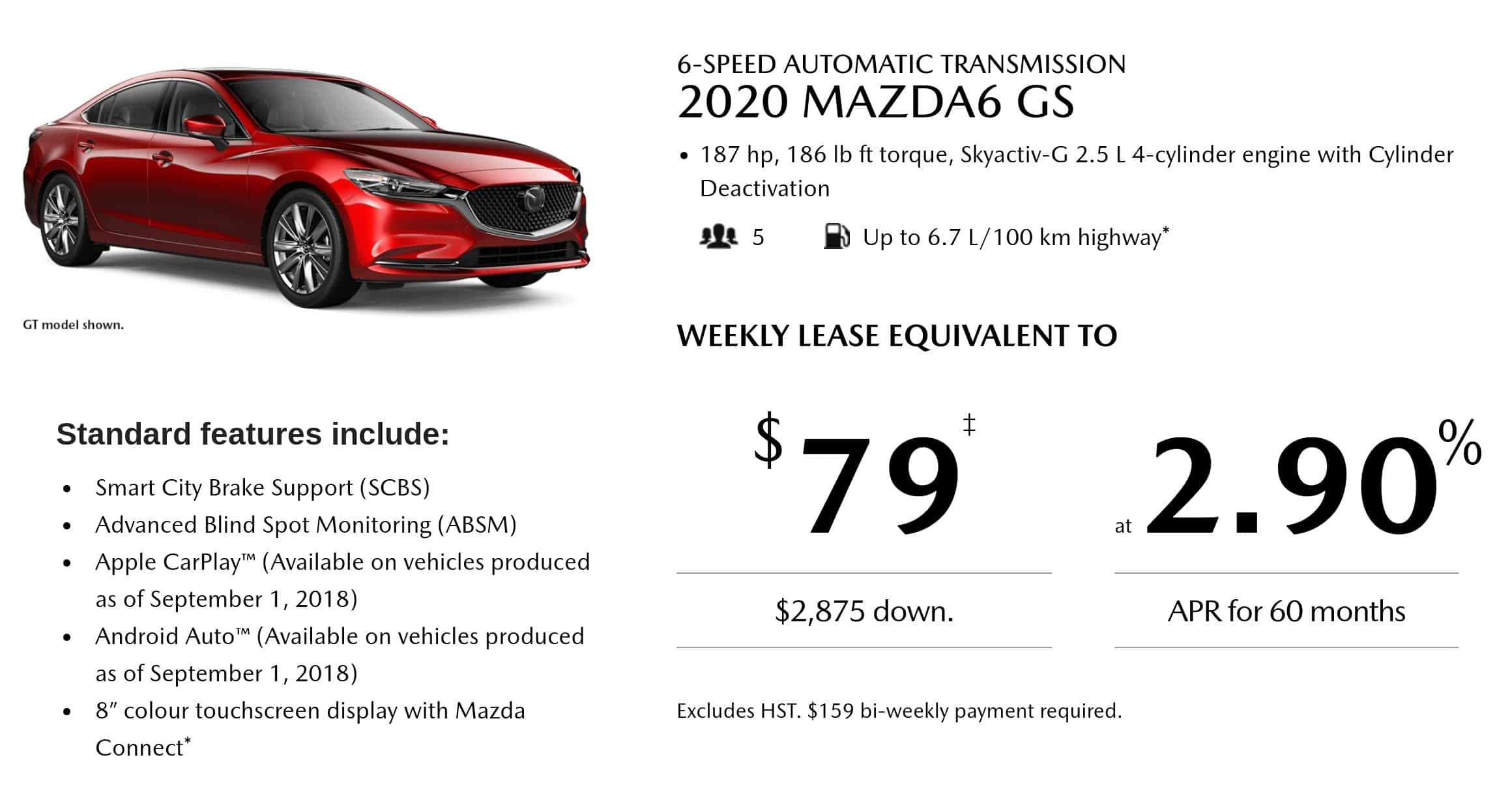 Mazda 6 Special Offers