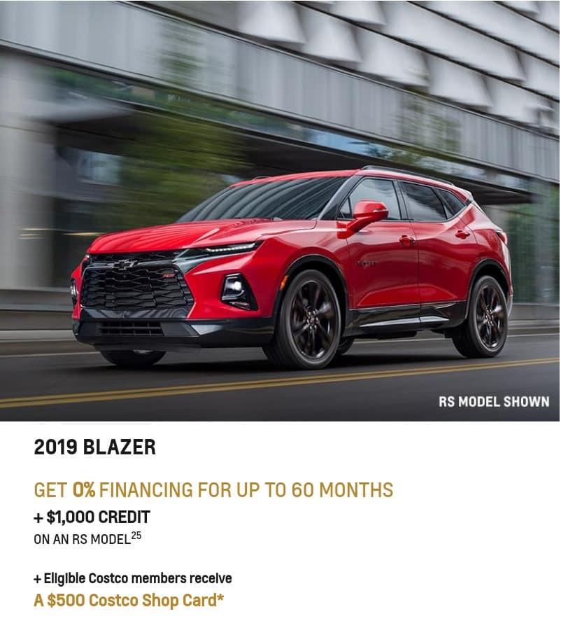 2020 Chevrolet Blazer January Deals