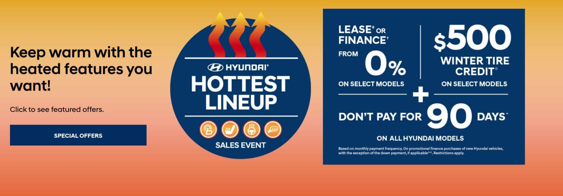 Hyundai Canada October Car Deals Ontario