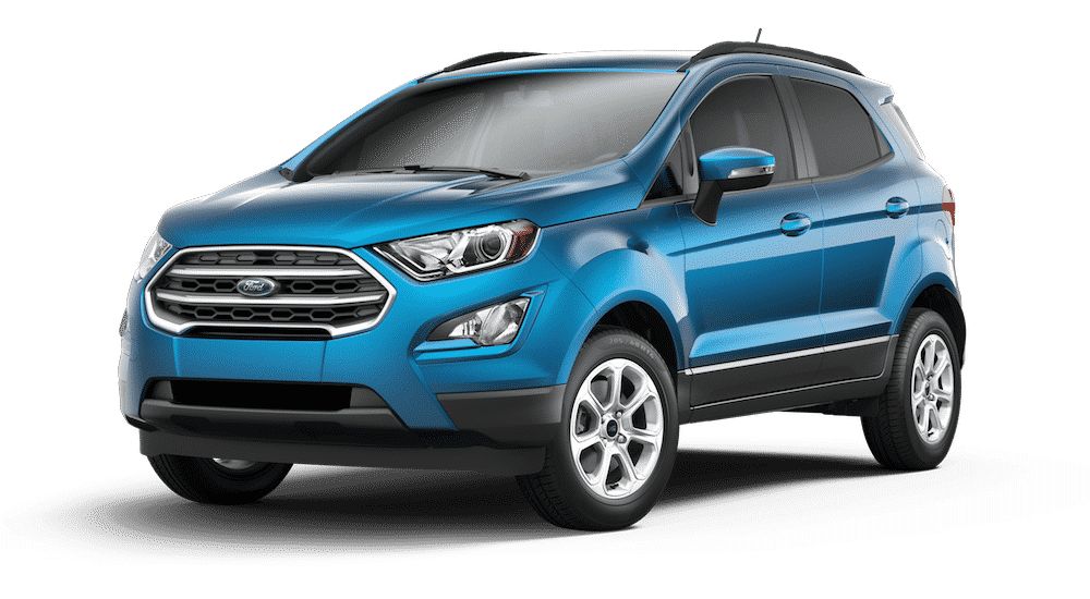 2020 Ford Ecosport Dealer Pricing Report