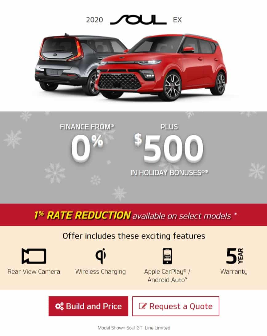The Kia Soul lease is one of the best new car deals in Ontario