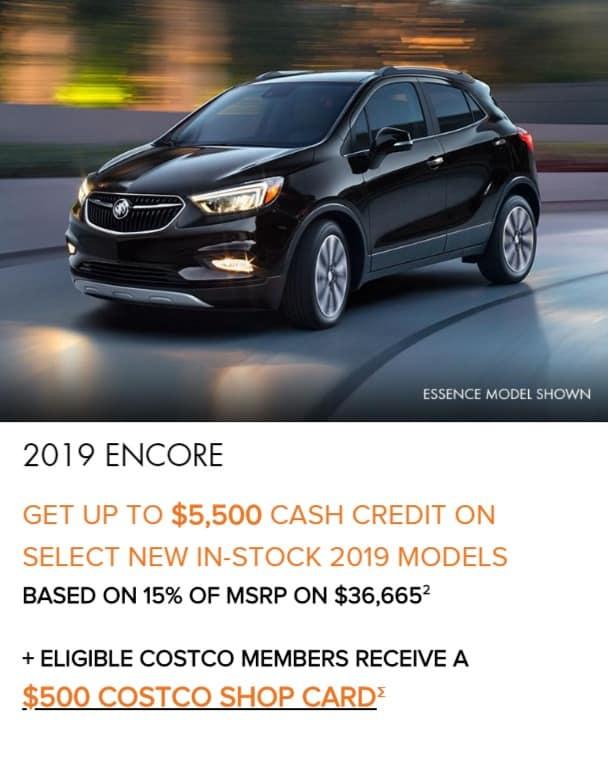 2019 Buick Encore Lease Deals Ontario