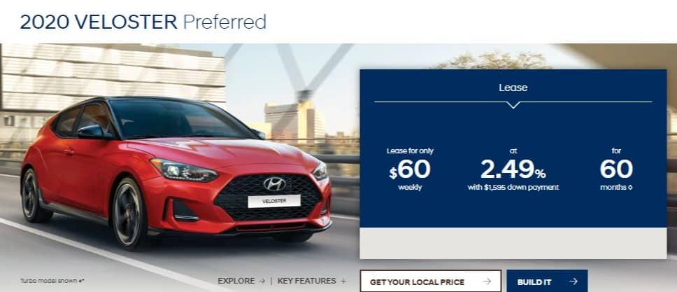 2020 Hyundai Canada Lease Deals & Finance Offers
