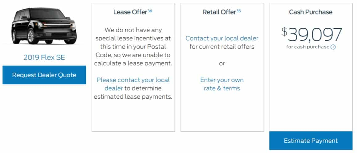 2020 Ford Lease Deals & Finance Offers