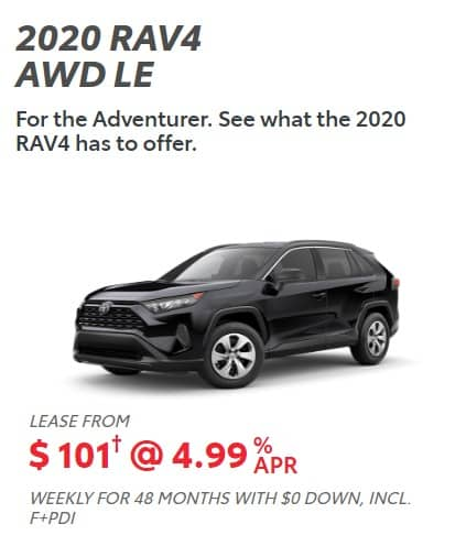 2020 Toyota Lease Deals & Finance Offers