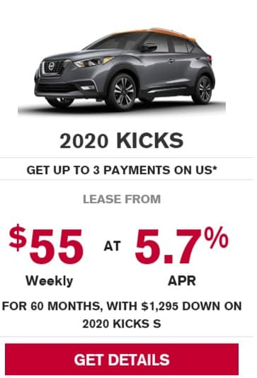 2020 Nissan Lease Deals & Finance Offers