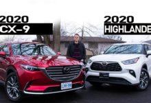 2020 Mazda CX9 vs 2020 Toyota Highlander