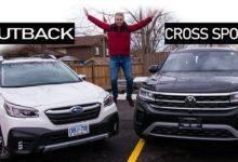 2020 Subaru Outback vs 2020 Volkswagen Atlas Cross Sport