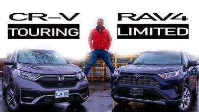 2020 Toyota Rav4 vs 2020 Honda CRV