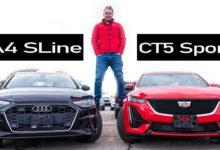 2020 Audi A4 vs 2020 Cadillac CT5
