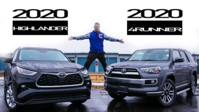 2020 Highlander vs 2020 4Runner