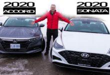 2020 Honda Accord vs 2020 Hyundai Sonata