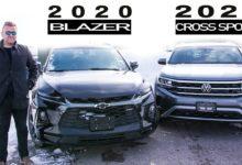 2020 Chevrolet Blazer vs 2020 Volkswagen Atlas Cross Sport