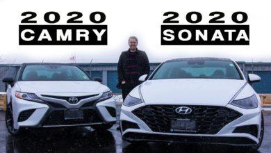 2020 Toyota Camry vs 2020 Hyundai Sonata