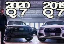 2020 Audi Q7 vs 2019 Audi Q7
