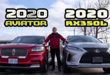 2020 Lincoln Aviator vs 2020 Lexus RX350L