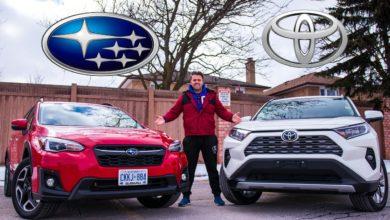 2020 Toyota RAV4 vs 2020 Subaru Crosstrek
