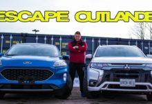 2020 Ford Escape vs 2020 Mitsubishi Outlander