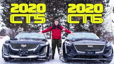 2020 Cadillac CT5 vs 2020 Cadillac CT6