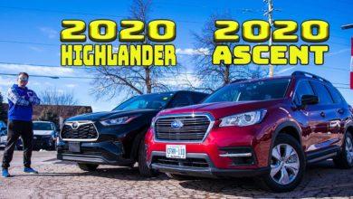 2020 Toyota Highlander vs 2020 Subaru Ascent