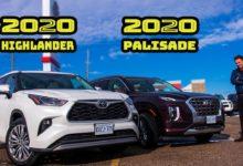 2020 Toyota Highlander vs 2020 Hyundai Palisade