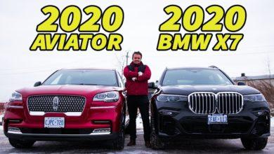 2020 Lincoln Aviator vs 2020 BMW X7