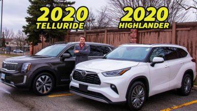 2020 Kia Telluride vs 2020 Toyota Highlander