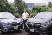 Photo of 2020 Honda CR-V Black Edition vs 2020 Subaru Forester Touring