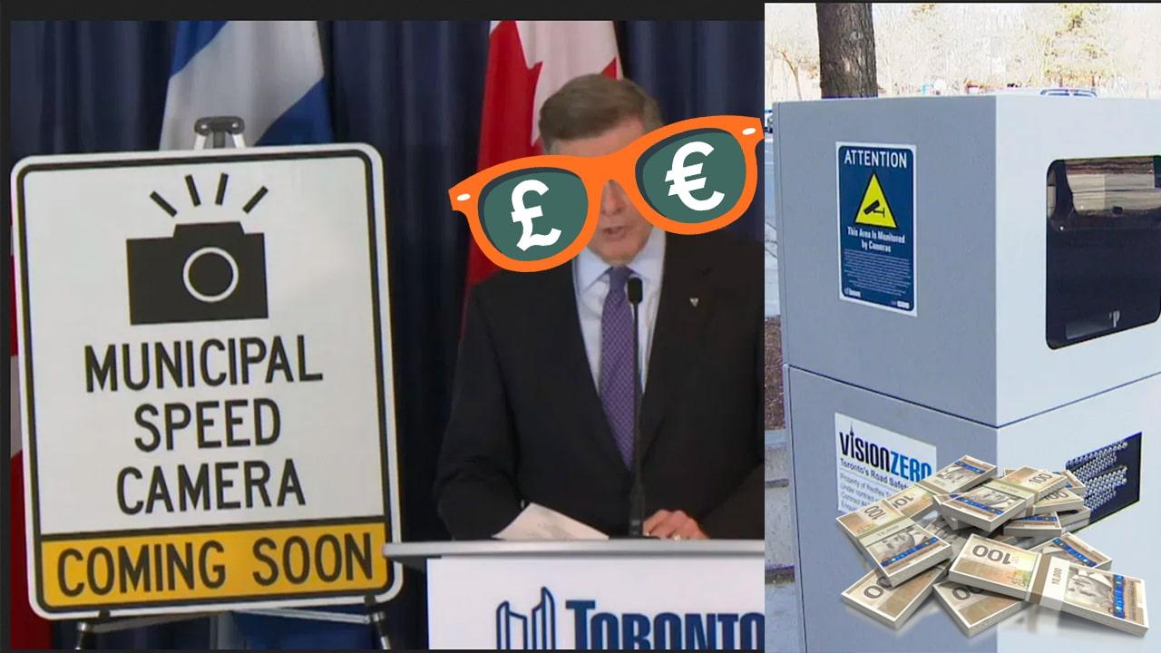 Toronto Speed Cameras