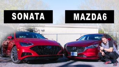 Hyundai Sonata vs Mazda 6