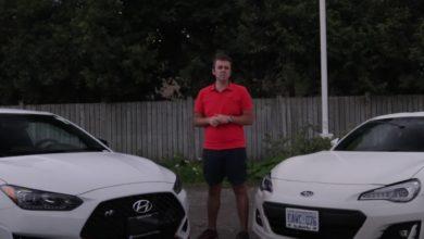 Subaru Sport Tech RS vs Hyundai Veloster