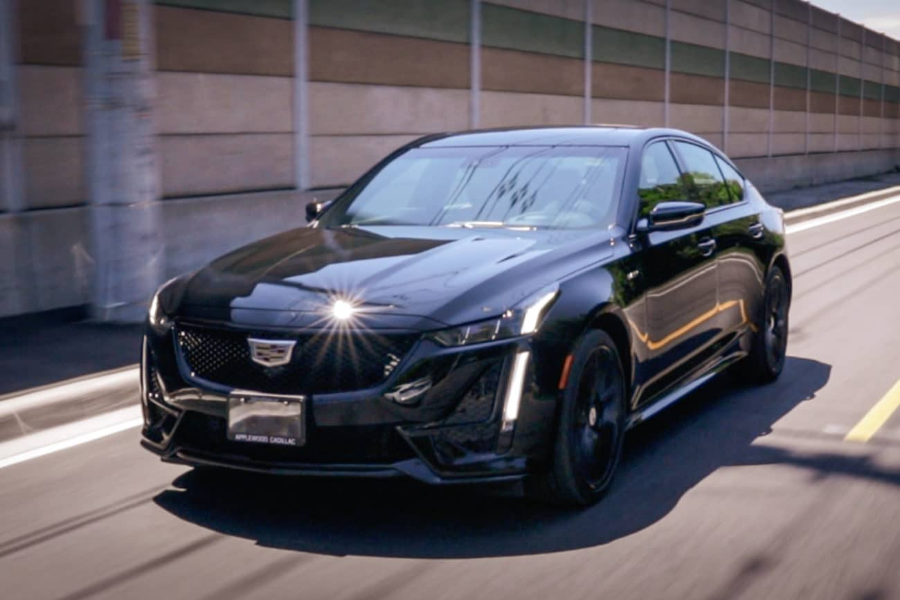 2020 Cadillac Ct5 V First Drive Review Take My Money Conquest Cars Canada