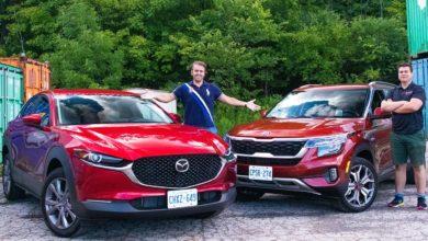 Photo of Is the 2020 Kia Seltos SX better than the 2020 Mazda CX30 GS?