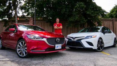 Photo of 2020 Toyota Camry XSE vs 2020 Mazda 6 Signature